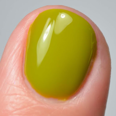 olive nail polish swatch