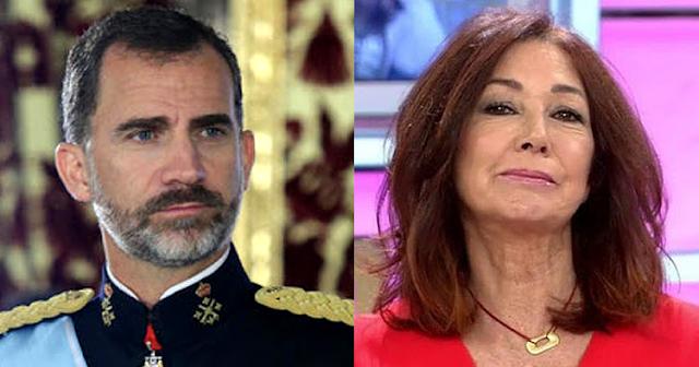 Felipe VI y Ana Rosa
