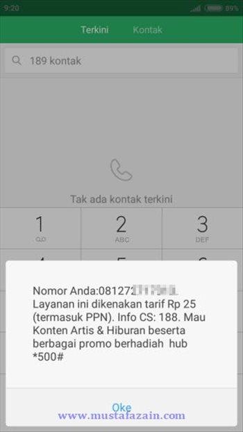 Cara Sederhana Cek Nomor Telkomsel (SimPati, As, dan Loop)