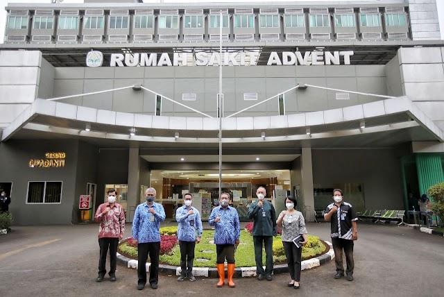 Yana Sambangi Rumah Sakit, Koordinasi BOR Dan Apresiasi Kesiagaan Nakes