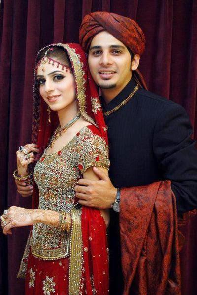 Punjabi Cute Baby Wallpaper Beautiful Pakistani Bridal Couples Wedding Dresses 4u Hd