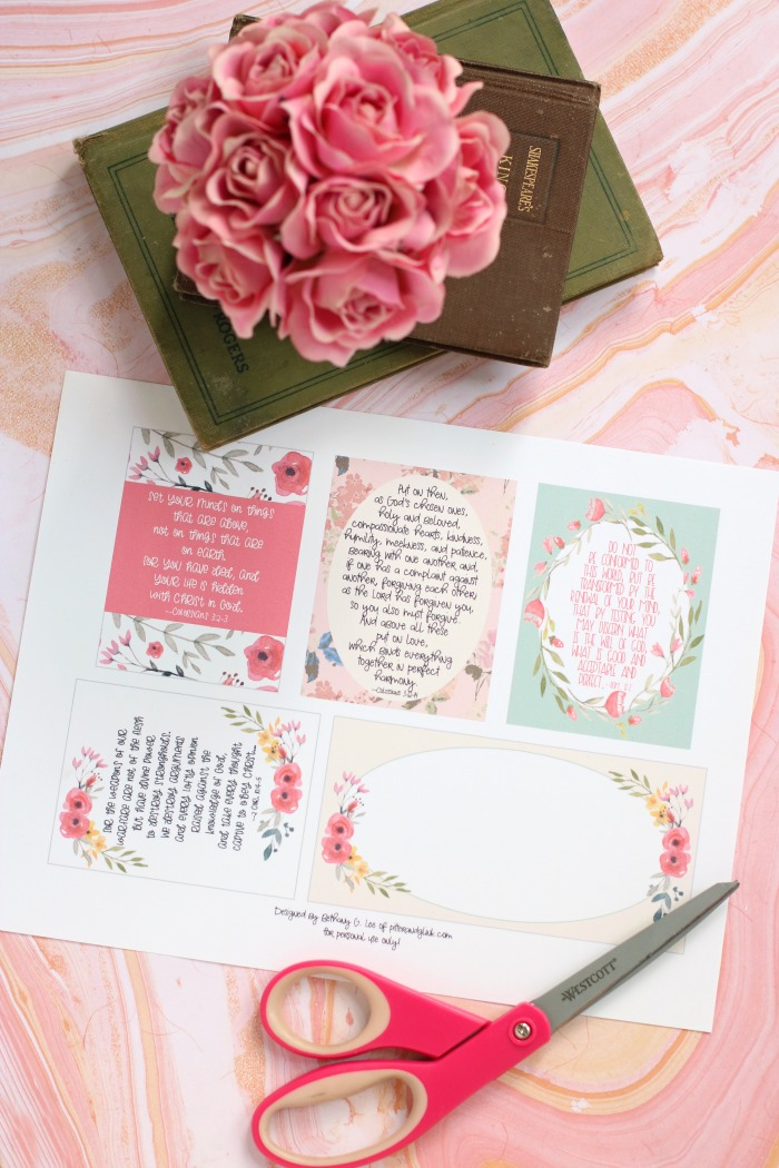 Free Printable Scripture Verse Cards
