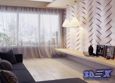 3d gypsum wall panels, 3d plaster wall paneling design, decorative wall panels for living room