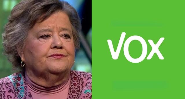 Cristina Almeida vapulea a VOX y carga contra su líder en Andalucía