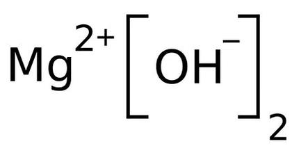 formula quimica hidróxido de magnésio