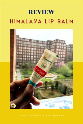 Himalaya lip balm with wheatgerm & carrot seed oil review