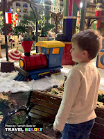Santa's Workshop at the  Gaylord Texan Resort, Grapevine, Texas. Travel Boldly