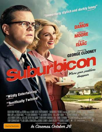 Poster Of Hollywood Film Watch Online Suburbicon 2017 Full Movie Download Free Watch Online 300MB