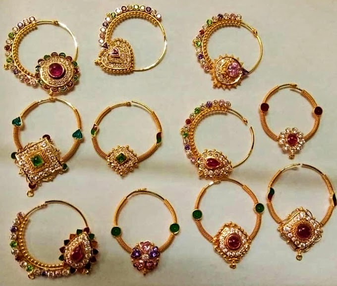Female Nose rings design jewelry | Fdbnj