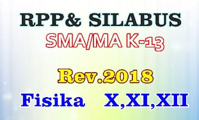 RPP DAN SILABUS FISIKA KURIKULUM 2013 SMA/MA KELAS X, XI, XII - REVISI 2018