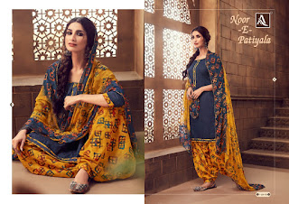 Alok suits Noor E patiyala vol 4 punjabi Suits catalog