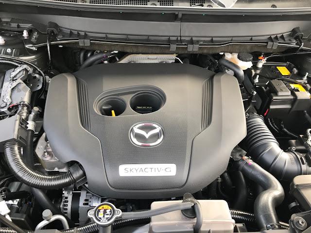 Engine in 2020 Mazda CX-9