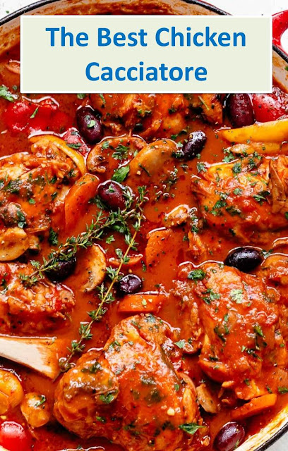 The Best Chicken Cacciatore #Best #Chicken #Cacciatore #Recipe #TheBestChickenCacciatoreRecipe