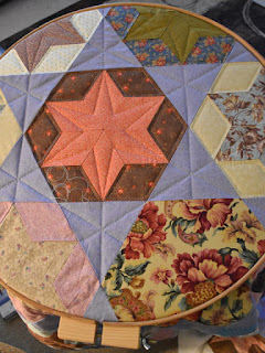 #QuiltBee: Candied Hexagons quilt