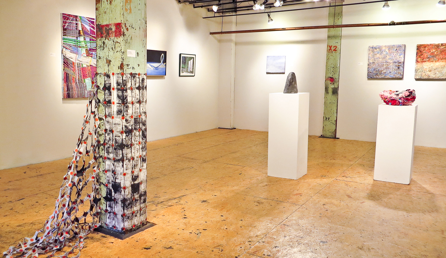 joanne mattera art blog critical mass cotton at fountain installation view clockwise jeanne williamson shown in essay stacey piwinsky roy perkinson david hawkins both shown in essay cheryl clinton