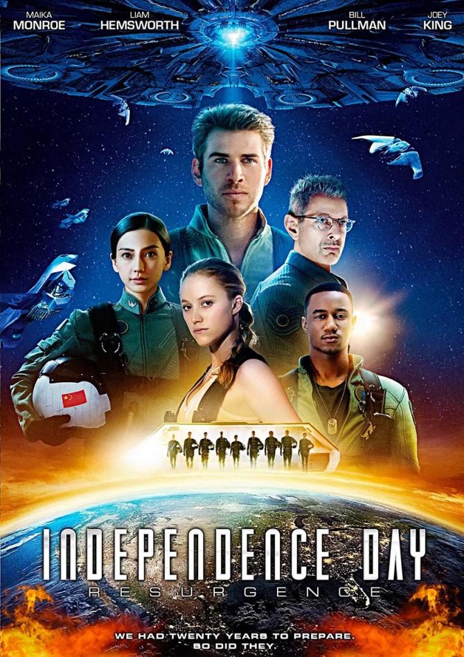 Independence Day 1996 Hindi Dual Audio 550MB BluRay 480p ESubs