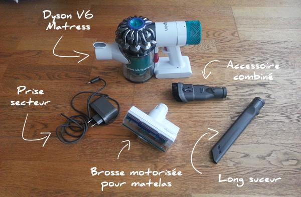 Aspirateur  Dyson V6 Matress