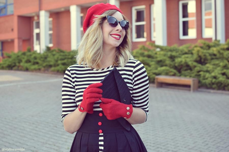beret, brilu, brilupl, moda, paski, rękawiczki, rosegal, sukienka, szpilki