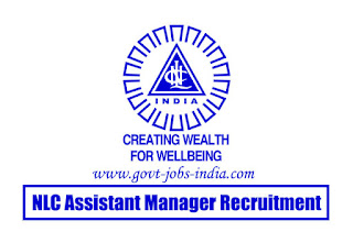 NLC Assistant Manager Recruitment 2020