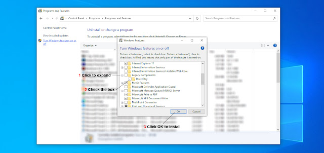 AdeelDrew - How to Manually Install DirectPlay - Enable Direct Play in Windows 10