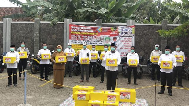 Sosialisasi Perda Nomor 1 Tahun 2016, TEC Salurkan Bantuan APD Untuk Tenaga Medis Lampung Selatan