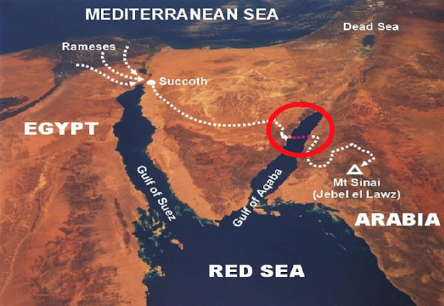 Terungkap FOTO BUKTI Nabi Musa AS Benar-Benar Membelah Lautan!