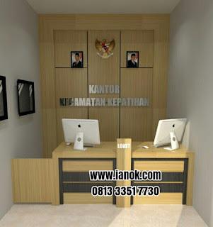 furniture mebel meja kantor