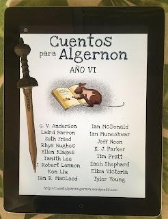 Portada del libro Cuentos para Algernon: Año VI, de varios autores