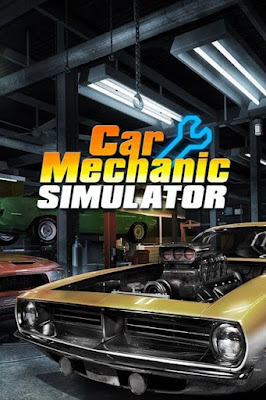 Capa do Car Mechanic Simulator 2018