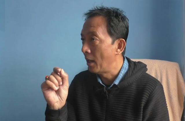 Gorkha Janmukti Morcha leader Binay Tamang