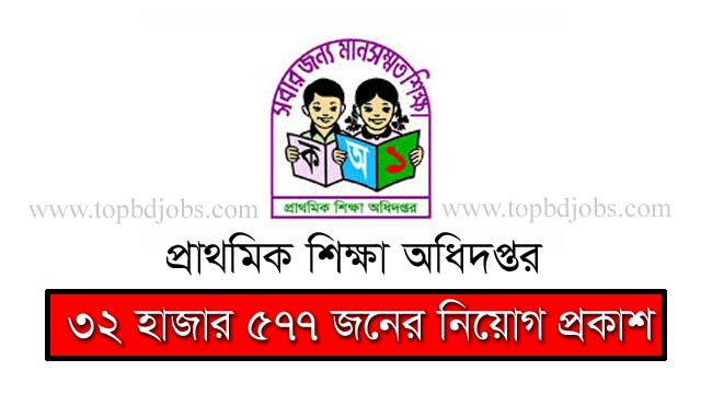 DPE Job Circular 2020