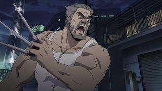 Ojciec Rinki, Rindo Urushiba wyglądający jak Wolverine