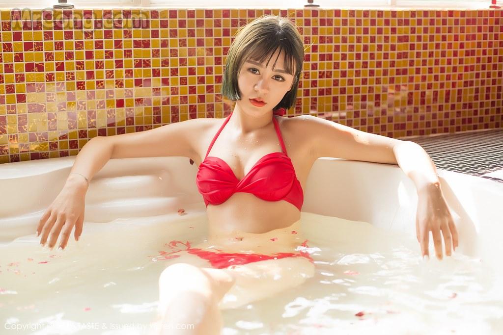 Image MrCong.com-TASTE-Vol.014-Wang-Meng-Meng-010 in post TASTE Vol.014: Người mẫu Wang Meng Meng (汪萌萌) (45 ảnh)