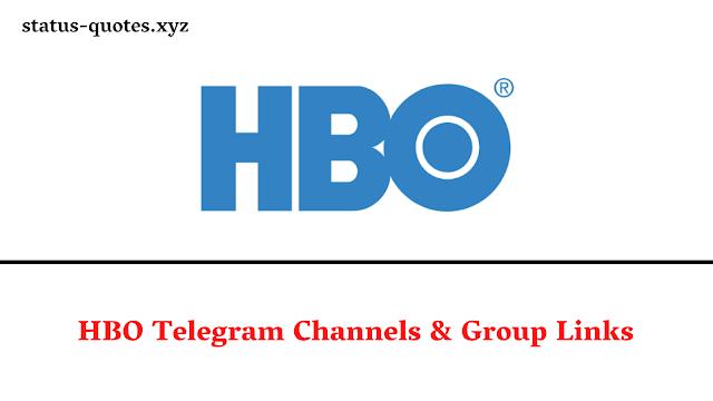 HBO Telegram Channels & Group Links