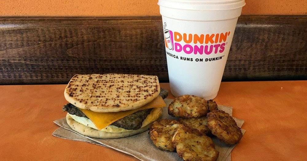 Dunkin Donuts Menu and Price List Latest 2017 - Fast Food ...
