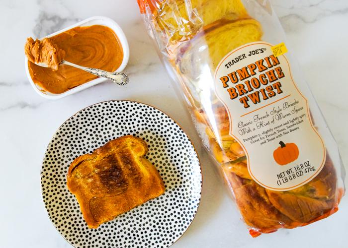 Trader Joe's Pumpkin Brioche Twist Bread Review