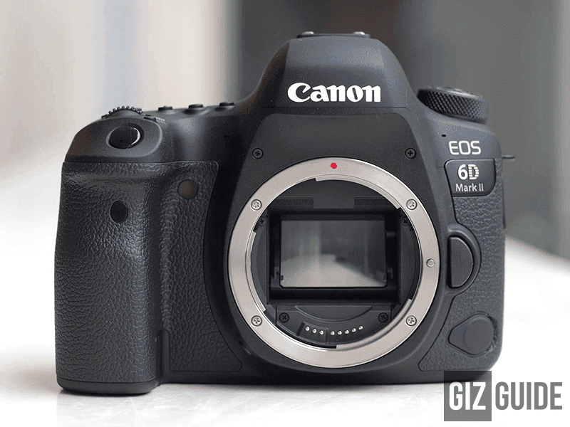 The new Canon 6D Mark II!