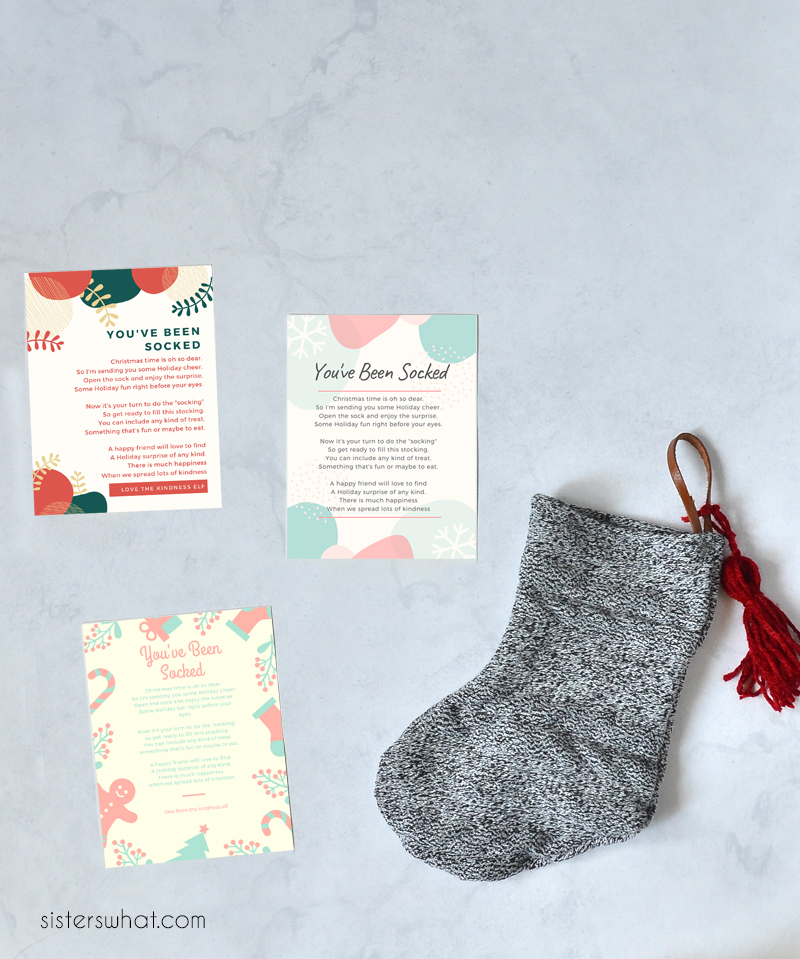 kindness stocking sewing tutorial