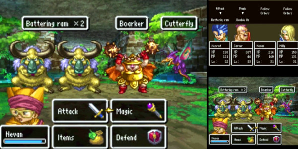 Dragon Quest VI Batalha