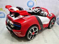 Mobil Mainan Aki Pliko PK9800 Mag Wheel L Red