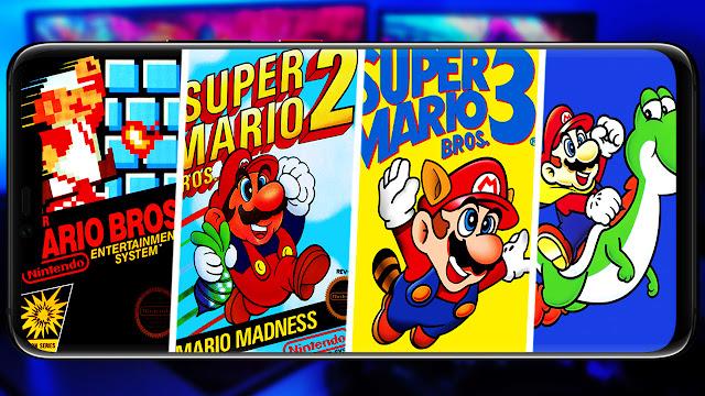 Descargar todos los Mario Bros