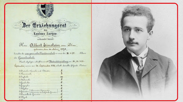 """ألبرت آينشتاين """"أبو القنبلة الذرية"""".. وصفه معاصروه في طفولته بـ """"المتخلف الصغير""""!"""