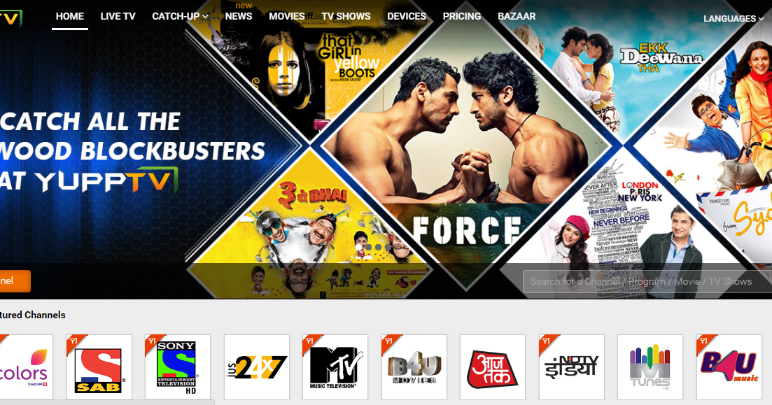 App Review For YuppTV (India's Largest & First OTT Player
