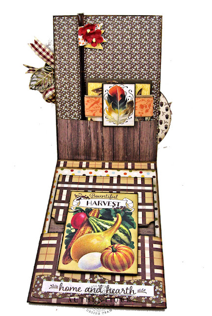 Authentique Pleasant Fall Card Folio by Kathy Clement Photo 02