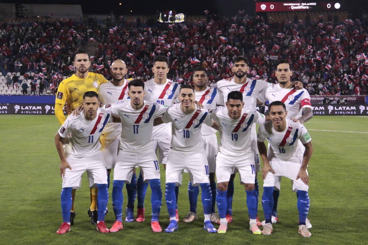 Formación de Paraguay ante Chile, Clasificatorias Catar 2022, 10 de octubre de 2021