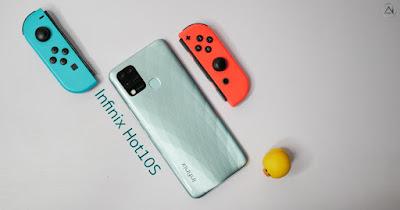 รีวิว Infinix Hot 10s สมาร์ทโฟนราคาประหยัด เล่นเกมได้สบายด้วย MTK Helio G85 หน้าจอรีเฟรชเรท 90Hz