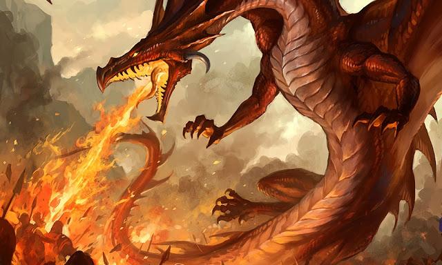 Monstros - Dragão verdadeiro D&D 3.5