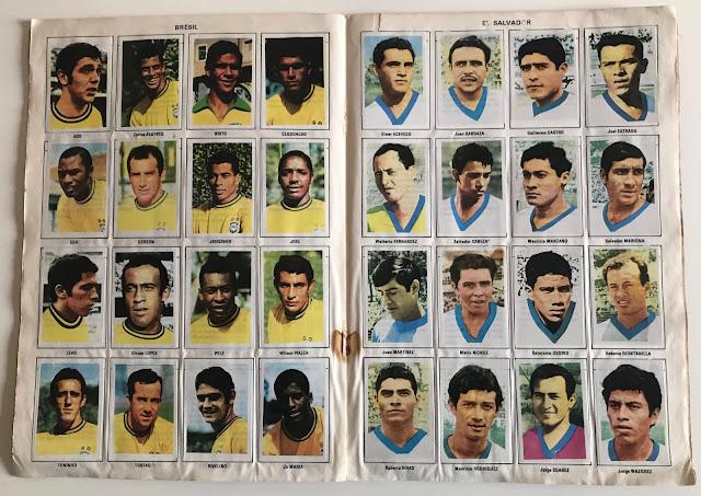 Figurine Brasile Album Vanderhout Messico 70