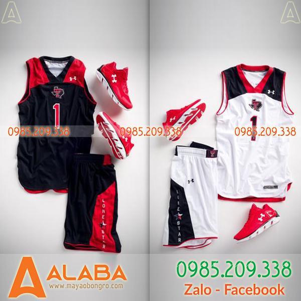 Áo bóng rổ nữ 3 lỗ đẹp