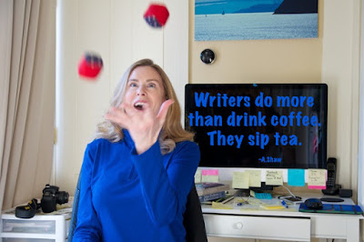Writers do more than drink coffee